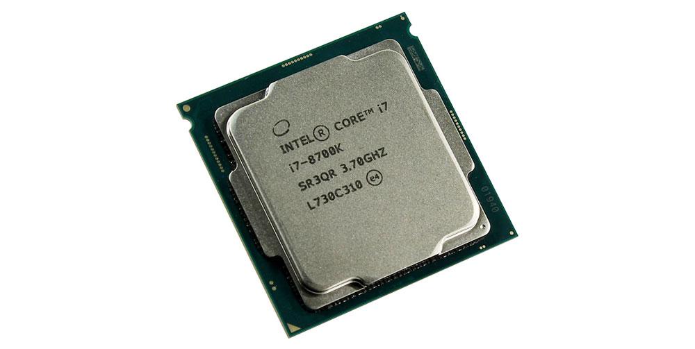 INTEL Core i7 8700K процессорчик