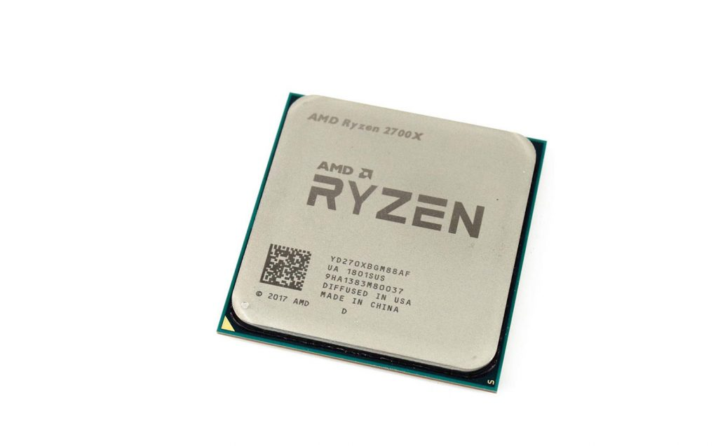 AMD Ryzen 7 2700X фото проца