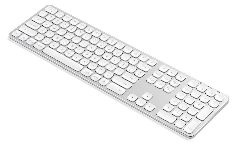 Satechi Aluminum Bluetooth Wireless Silver